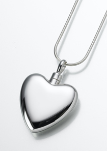 Large sterling silver heart pendant oakland county cremation large sterling silver heart pendant aloadofball Choice Image